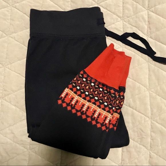 42% off GAP Pants - GAP Fairisle Pajama Sweater Knit Leggings from ...